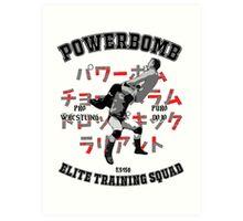 Powerbomb Elite Training Squad Art Print