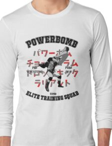 Powerbomb Elite Training Squad Long Sleeve T-Shirt