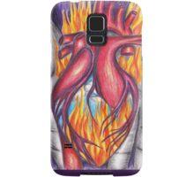 My Heart Burns for You Samsung Galaxy Case/Skin