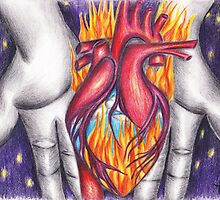 My Heart Burns for You by asop1010