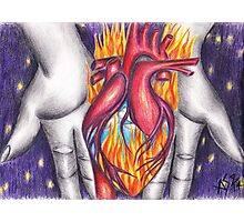 My Heart Burns for You Photographic Print