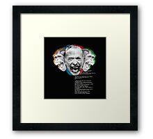 Charles Bukowski 3 Framed Print
