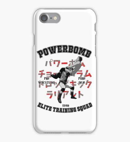 Powerbomb Elite Training Squad iPhone Case/Skin