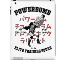 Powerbomb Elite Training Squad iPad Case/Skin