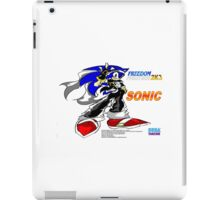 Freedom Fighter 2K3 Sonic iPad Case/Skin