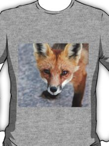 Please Feed Me - Red Fox T-Shirt
