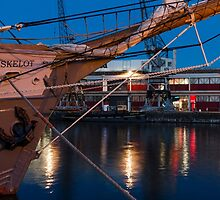 Kaskelot and the MShed, Bristol by Carolyn Eaton