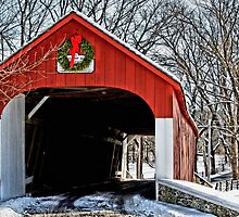 A Bucks County Bridge by DJ Florek