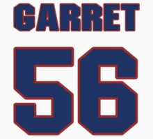 National Hockey player Garret Stroshein jersey 56 by imsport