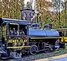 Henry Clay Steam Train by DJ Florek