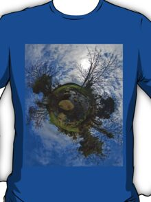 Stepping Stones Across Kilkeel River, County Down T-Shirt