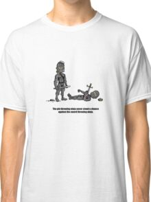 The Pie Throwing Ninja Classic T-Shirt