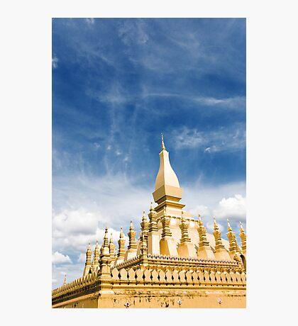 Pha Tat Luang temple Photographic Print