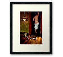 WHERE DO YOU GO TO MY LOVELY...... Framed Print