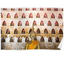 Thousand buddhas Poster