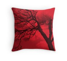 Earth Lung Throw Pillow