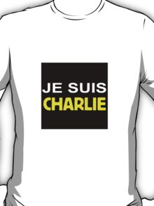 Je suis Charlie (yellow) T-Shirt