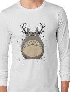 Totoro True Detective Long Sleeve T-Shirt
