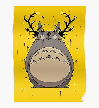 Totoro True Detective Poster