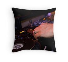 Miguel Migs Throw Pillow