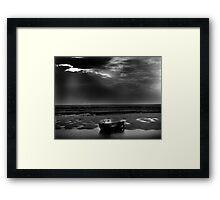 Burnham Overy Staithe, Norfolk, UK Framed Print