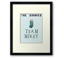 The Goonies Team Mikey - The Goonies Movie Nerdy Framed Print