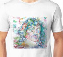DESCARTES -watercolor portrait Unisex T-Shirt