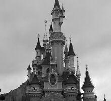 Disneyland Paris Castle  by HellyJelly