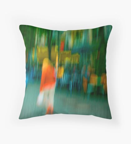 Mary Jane Throw Pillow