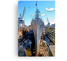 USS Cassin Young Canvas Print