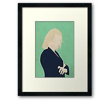 Eve Baird - The Librarians Framed Print