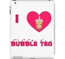 I heart bubble tea iPad Case/Skin