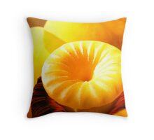 Hello, yellow. Throw Pillow