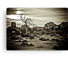 End of the Trail Canvas Print