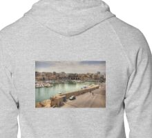 Heraklion Old Port Zipped Hoodie