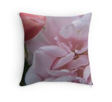 Kiss from a rose bud Throw Pillow