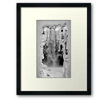Ice Fangs 2 of 2 Framed Print