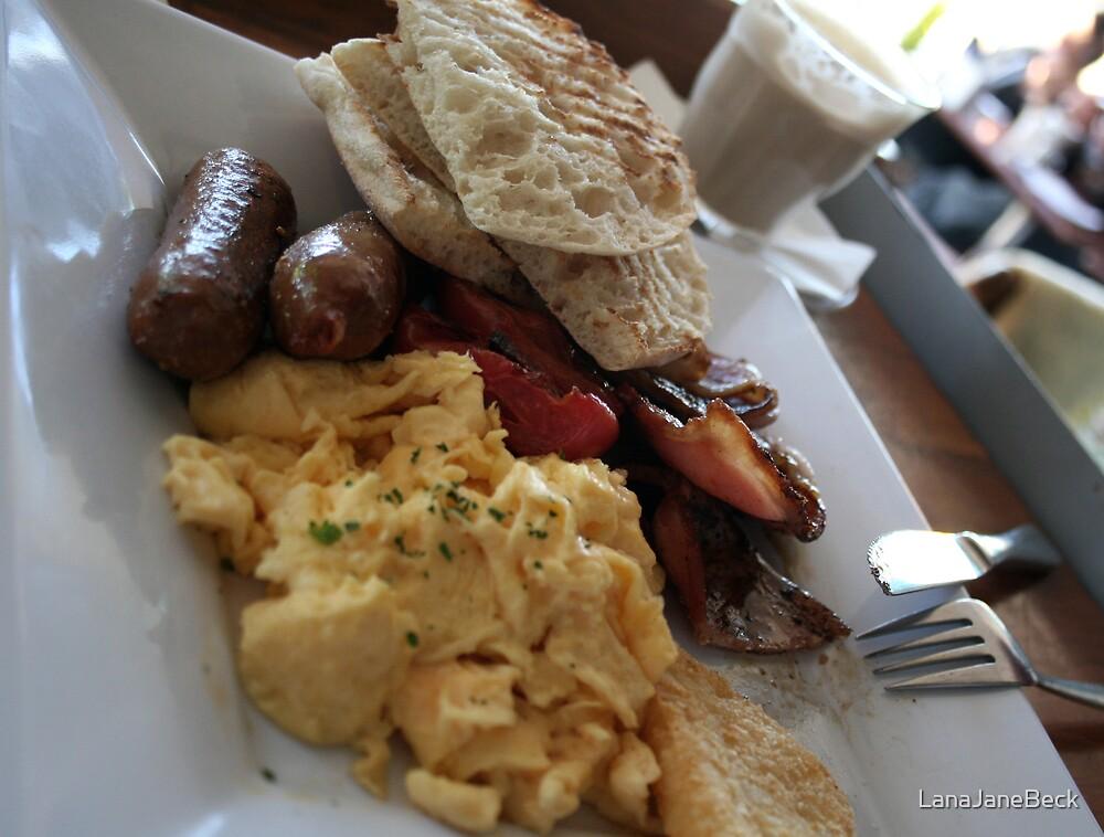 Aussie Breakfast by LanaJaneBeck