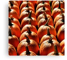 Pumpkin Canvas Print