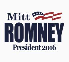 Mitt Romney 2016 Kids Tee
