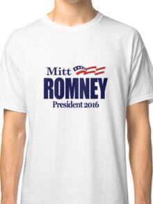 Mitt Romney 2016 Classic T-Shirt