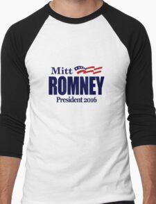 Mitt Romney 2016 Men's Baseball ¾ T-Shirt