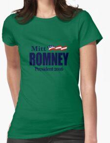 Mitt Romney 2016 Womens Fitted T-Shirt