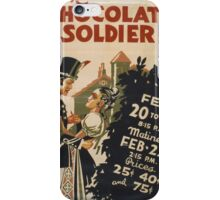 The Chocolate Soldier iPhone Case/Skin