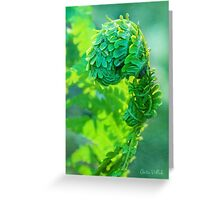 I Am Fern Man! Greeting Card