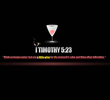 I TIMOTHY 5:23 by webart