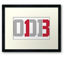 Odell Beckham Jr. | ODB 13 Framed Print