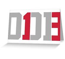 Odell Beckham Jr. | ODB 13 Greeting Card
