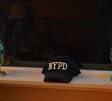 Tribute To The Fallen NYPD Officers by Fred Moskey