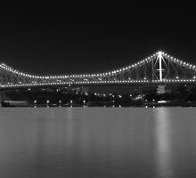 Storey Bridge - Black & White by fellPhotography.com .au